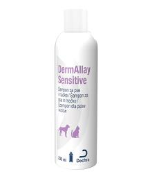 DermAllay Sensitive Šampon za pse in mačke 230 ml